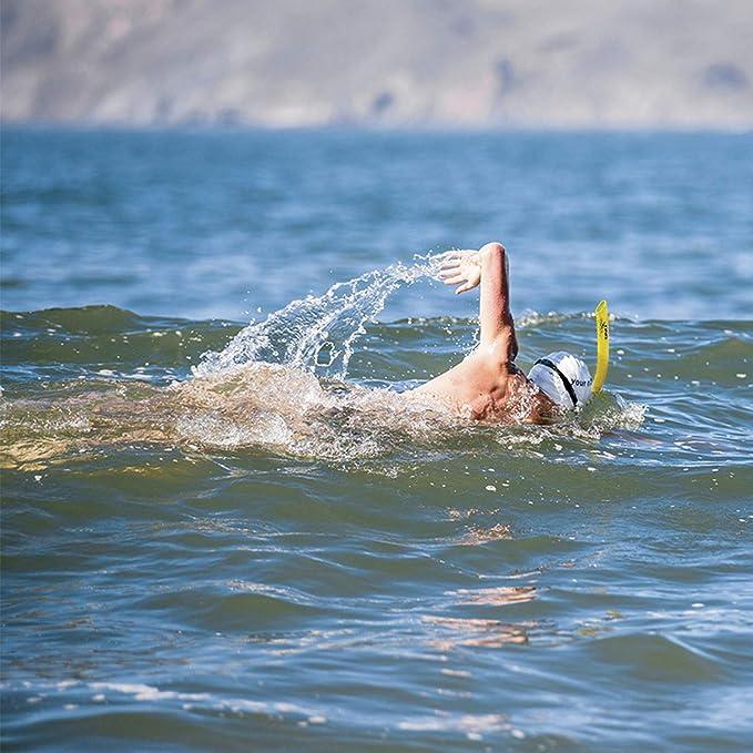 Finis - Tubo de respiración para natación, color amarillo: Amazon.es: Deportes y aire libre