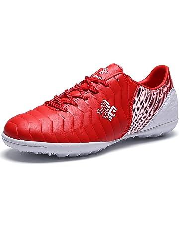 Botas de Fútbol Niño FG TF Zapatillas Futbol Sala Niña Ligero Zapatos de  Deporte Unisex 0998718acba76