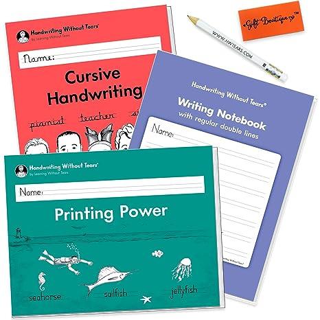 Amazon.com : Handwriting Without Tears Printing Power - Cursive ...