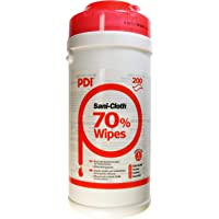 PDI Sani-Cloth 70 Alcohol Wipes in Canister x