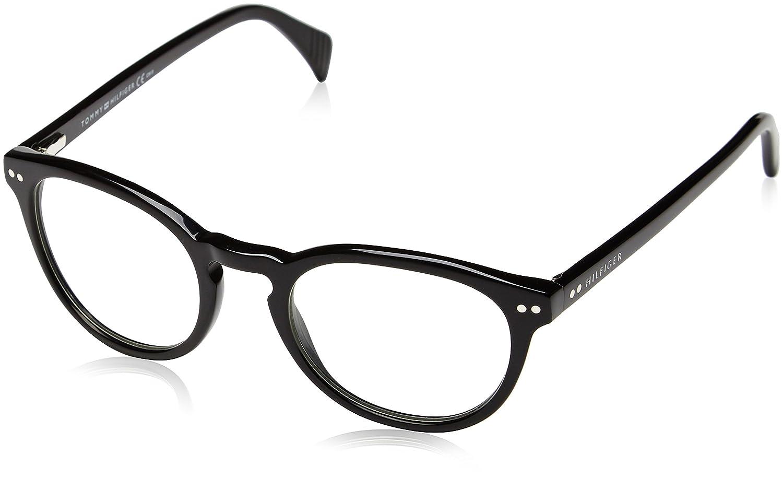 Tommy Hilfiger Unisex Rechteckig Sonnenbrille, Gr. One Size, Mehrfarbig