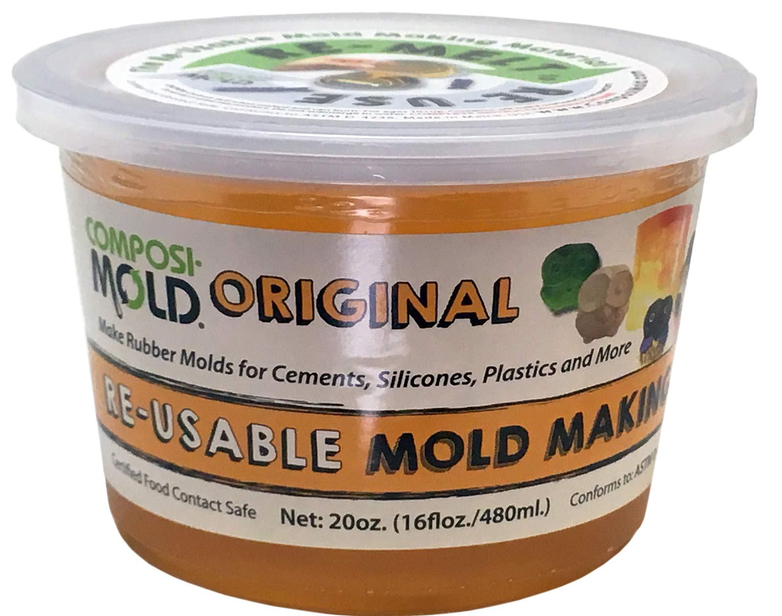 ComposiMold Original 20 Ounce Reusable Molding Material, Reheat To Reuse