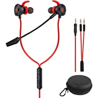 BlueFire Wired Gaming Earphone 3.5 MM E-Sport Earphone Noise Cancelling Stereo Bass Gaming Headphone with Adjustable Mic…