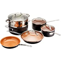 10-Piece Gotham Steel Frying Pan and Cookware Set