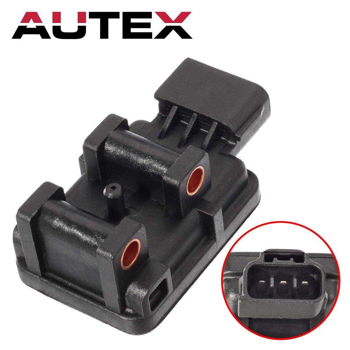 AUTEX MAP Sensor AS88 Manifold Air Pressure Sensor compatible w/Dodge Durango B1500 B2500 B3500 Dakota Ram 1500 1500 Van Ram 2500 2500 Van Ram 3500 Van Viper Jeep Cherokee Grand Cherokee Wrangler