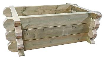 2 ft x 3 ft – recaudado crecer cama frontera hechas a mano de muebles grado