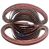1 x 21 A VFN 1 Width Scotch-Brite 93517 Surface Conditioning Belt Pack of 10 21 Length Other Backing Aluminum Oxide Abrasive Grit