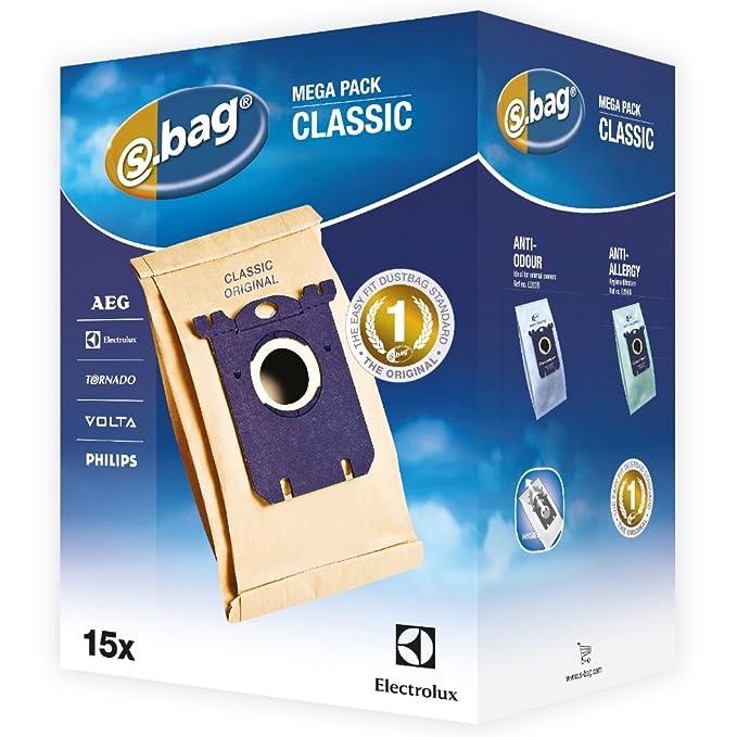 Amazon.com: Electrolux E200 M Accessoires Aspirateur S-Bag ...