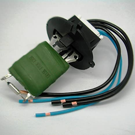 PEUGEOT 307 HEATER RESISTOR ELECTRICAL CONNECTOR AND LOOM 6445KL