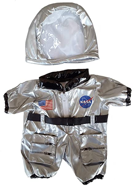 c959e58f134 Amazon.com  Astronaut Costume Outfit Teddy Bear Clothes Fits Most 14