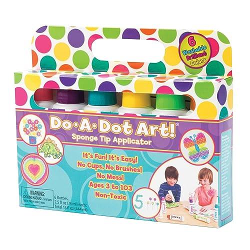Do A Dot Art! Markers Brilliant Washable 6 Pack The Original Dot Marker