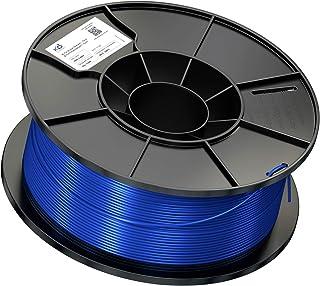 KD Essentials PLA Filament (1,75mm - 1kg Rolle, geeignet für 3D Drucker oder Stift, saubere Wicklung, Vakuumverpackung) blau