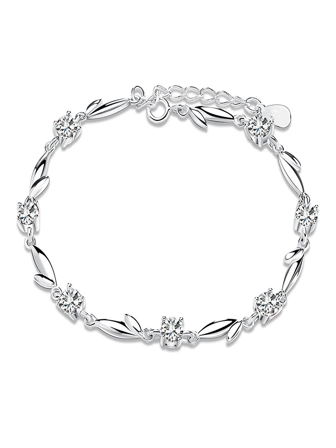 Ginger Lyne Collection Trendy Link Cubic Zirconia Braclet