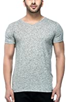 Tinted Men's Linen V-Neck T-Shirt