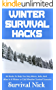 Winter Survival Hacks: 34 Hacks To Help You Stay Warm, Safe, and Alive In A Winter or Cold Weather Survival Scenario