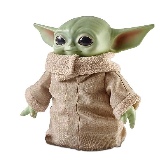 Star Wars Baby Yoda de la serie The Mandalorian, peluche de ...