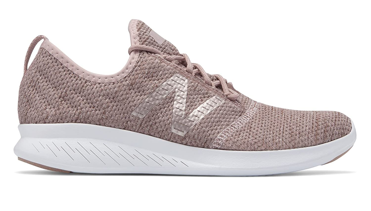 New Balance Women's Coast V4 FuelCore Running Shoe B07BL2MHHF 5 B(M) US|Charm/Pink Mist/Champagne Metallic