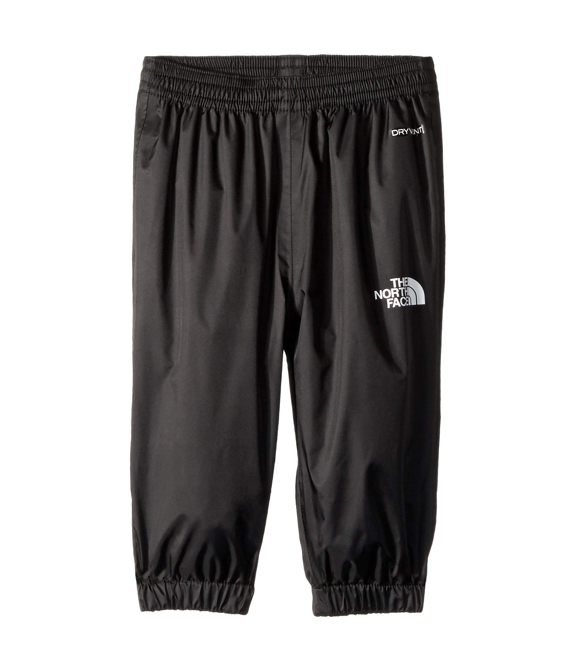 The North Face Infant Zipline Rain Pant, TNF Black, 3M by The North Face
