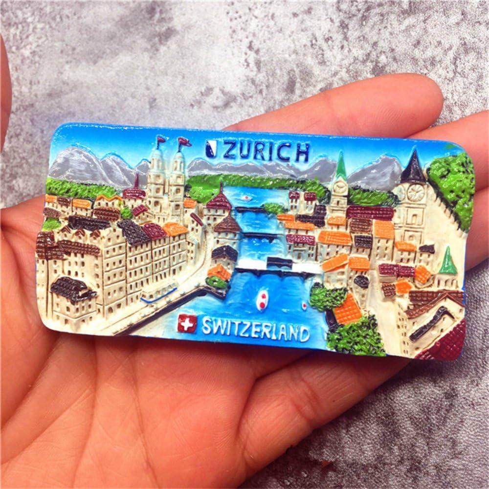 Babelemi 3d Handmade Zürich Kühlschrank Magnet Schweiz Kühlschrank Magnete Aufkleber Amazon De