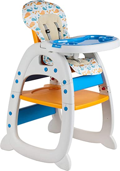 Galactica New 3in1 Baby High Chair Compact Infant Feeding Seat