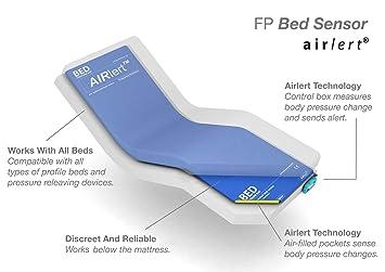 AIRLERT - Sensor de salida de cama, color azul/gris, 1 kg: Amazon.es: Salud y cuidado personal