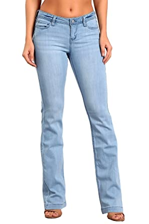 160994327d Celebrity Pink Women s Mid Rise Kickboot Jeans 1 Bristol CJ21007H18