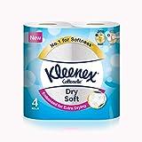 Kleenex Toilet Tissue Dry Soft, 4 Rolls - 200 Sheets x 2 Ply