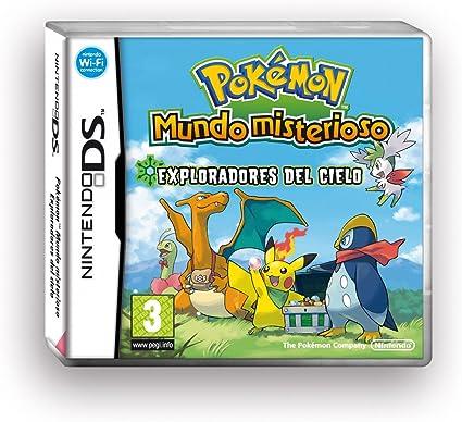 NDS Pokémon Mundo Misterioso: Exploradores del Cielo: Amazon.es: Videojuegos