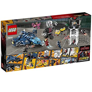 LEGO 76051 Marvel Super Heroes Super Hero Airport Battle: Amazon.co ...