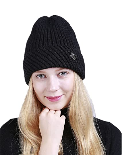 Amazon.com  Bagoge Womens Knitted Hats 62edf7e9284