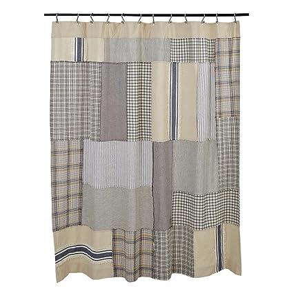 Amazon Piper Classics Mill Creek Patch Shower Curtain 72 X