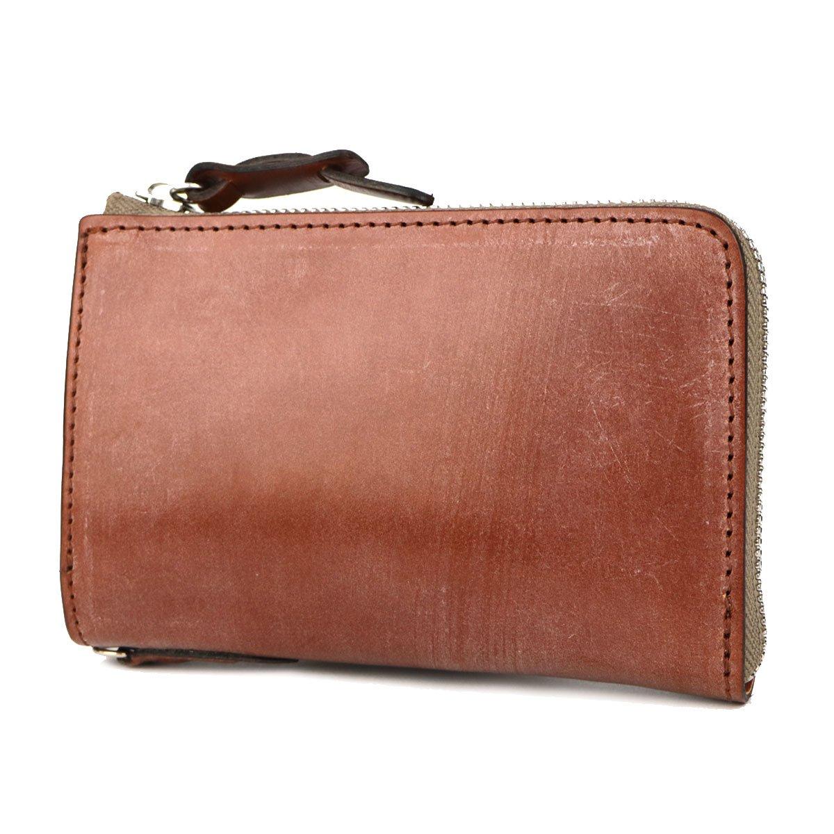 [コルボ]CORBO face Bridle Leather 二つ折り財布 L字ファスナー 1LD-0225 B019UPTW9Uヘーゼル(98)