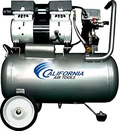California Air Tools cat-6310 Ultra silencioso y sin Aceite 1.0 HP 6.3-gallon