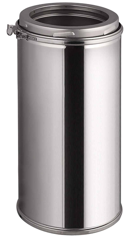 Doppelwandiges Schornsteinrohr in allen L/ängen und Durchmessern Edelstahl Schornsteinverl/ängerung /Ø 180mm, 200mm