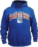Mitchell & Ness New York Rangers Team Arch Hoody Hoodie Blue Sweater