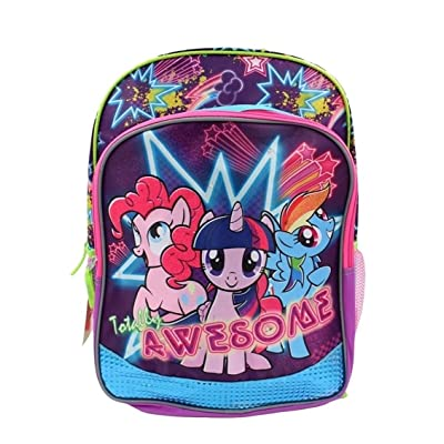 "cheap My Little Pony 16"" Girls School Backpack - Light Up"