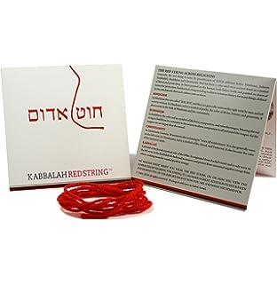 b5c288634ecd Cadena de Kabbalah ORIGINAL de Israel Paquete de brazalete de Kabbalah  STRING ROJO - 150 CM