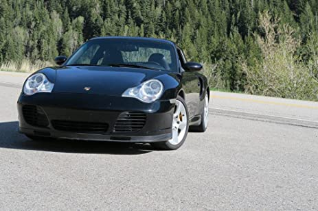 LAMINATED 36x24 inches Poster: Porsche 911 996 Turbo Little Cottonwood Coupe Car Auto Automotive Fast