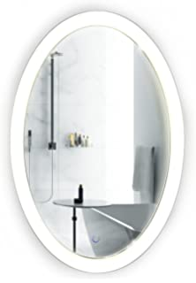 mirror 20 x 36. oval led bathroom mirror 20 inch x 30 | lighted vanity includes dimmer \u0026 36 n