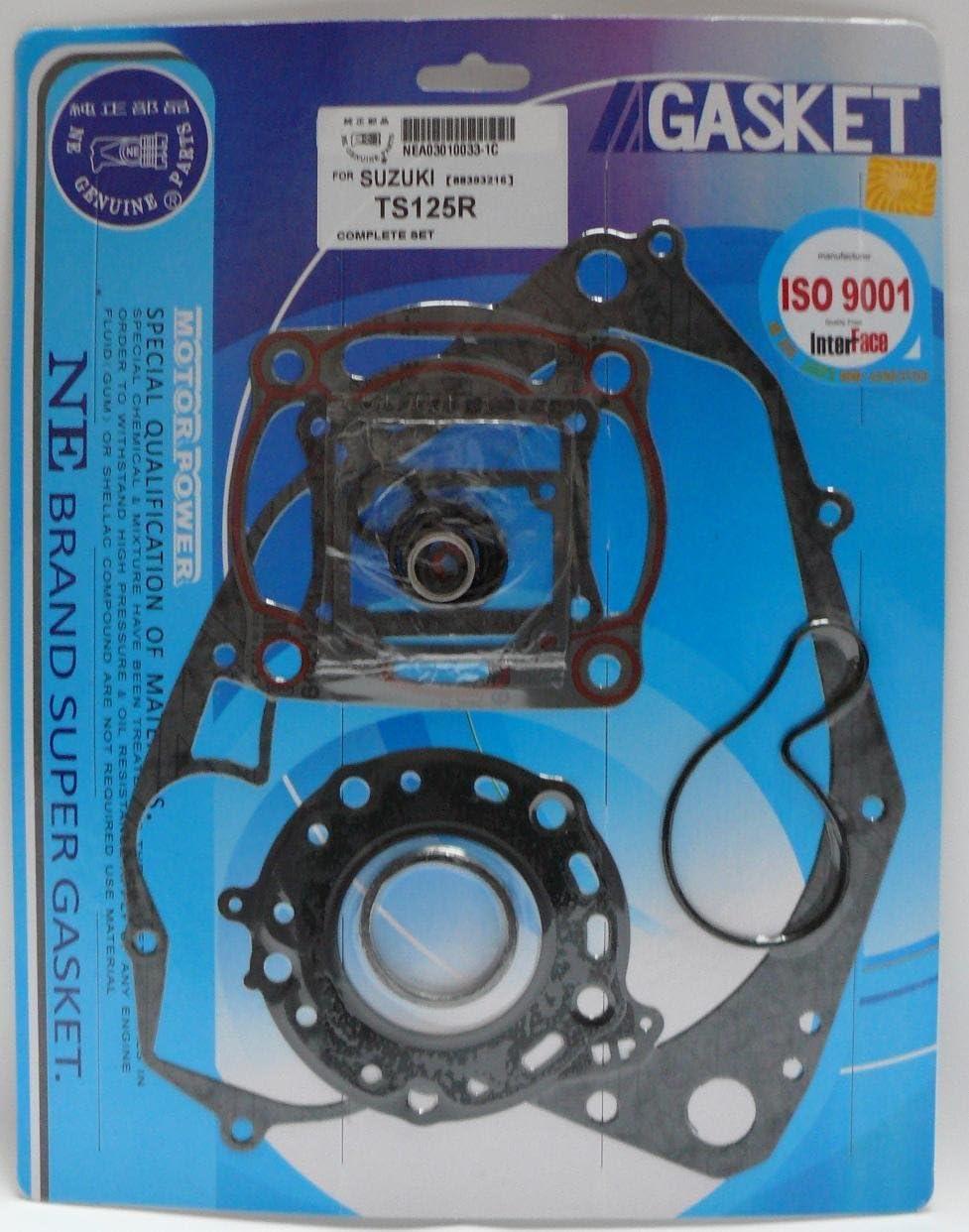Kr Motordichtsatz Dichtsatz Komplett Suzuki Ts 125 R 1990 1996 Auto