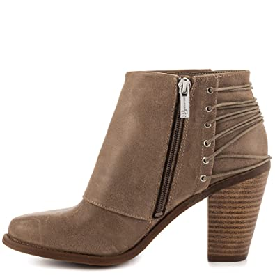 Jessica Simpson Frauen Caysy Geschlossener Zeh Leder Fashion Stiefel