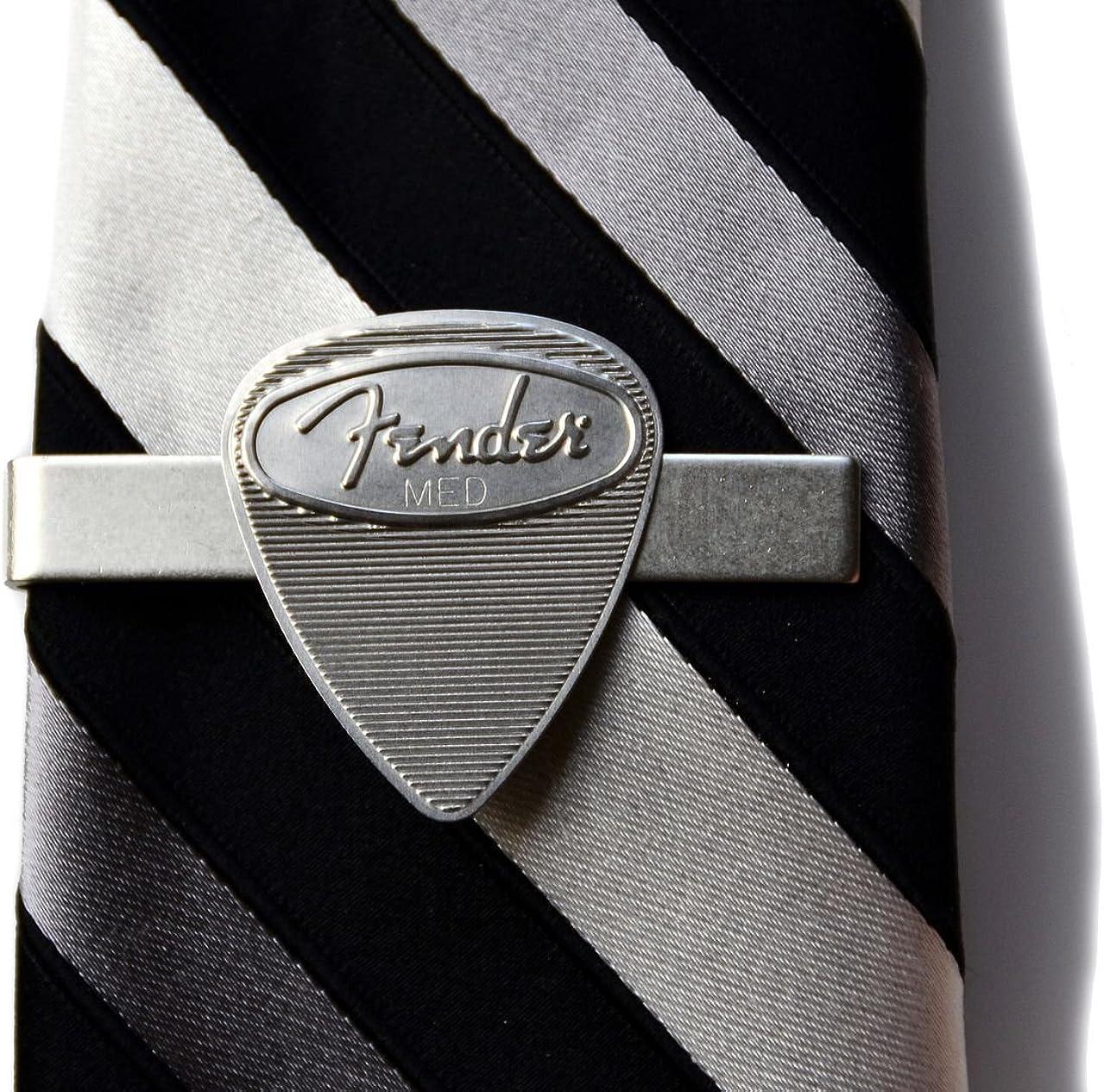 Quality Handcrafts Guaranteed Guitar Pick Tie Clip