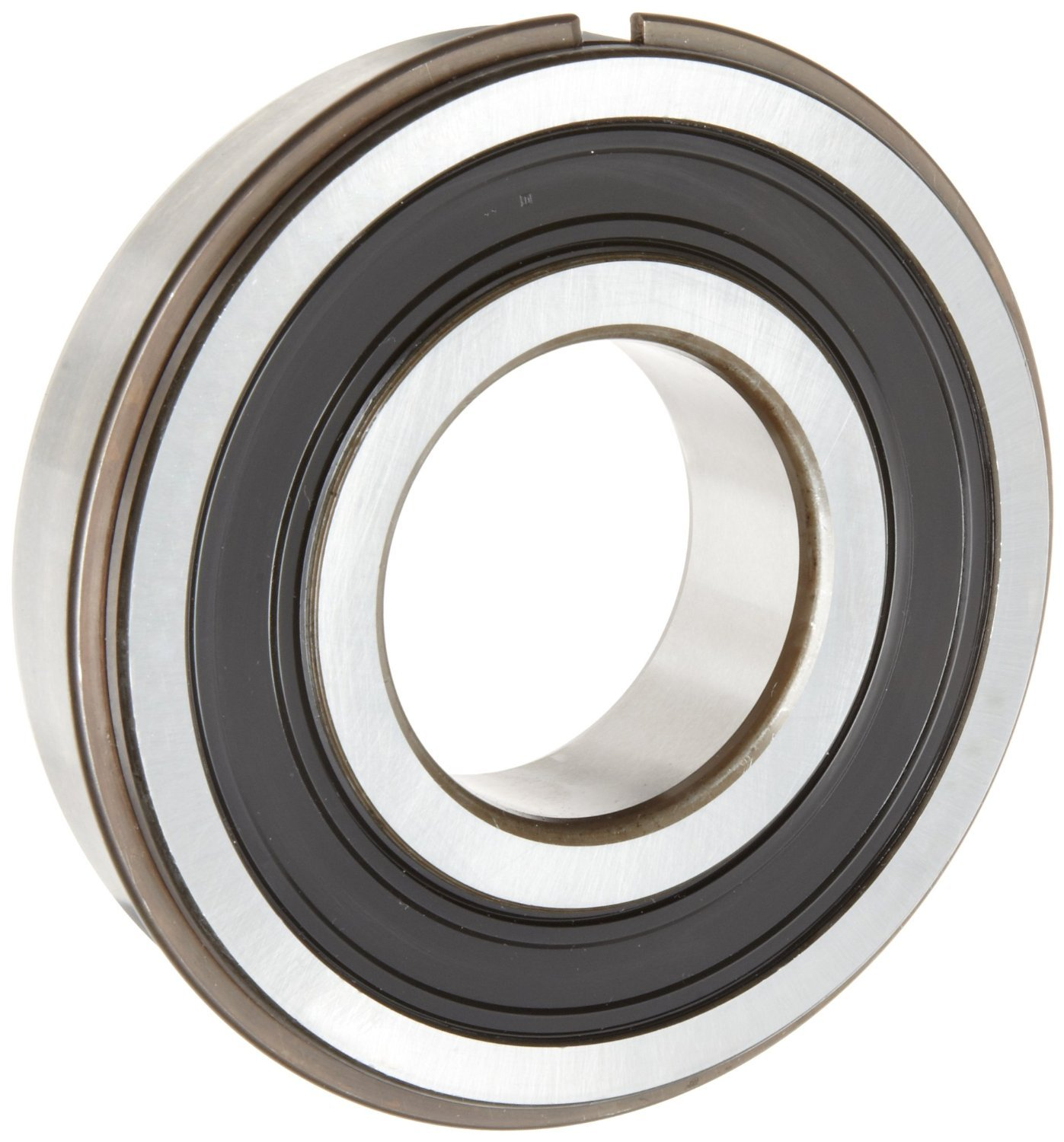 ORS 6205 2RS NR C3 Deep Groove Ball Bearing, Single Row, Double Sealed, Snap Ring, Steel Cage, C3 Clearance, ABEC 1 Precision, 25mm Bore, 52mm OD, 15mm Width ORS Bearings Inc. 6205-2RS NR C3 G93