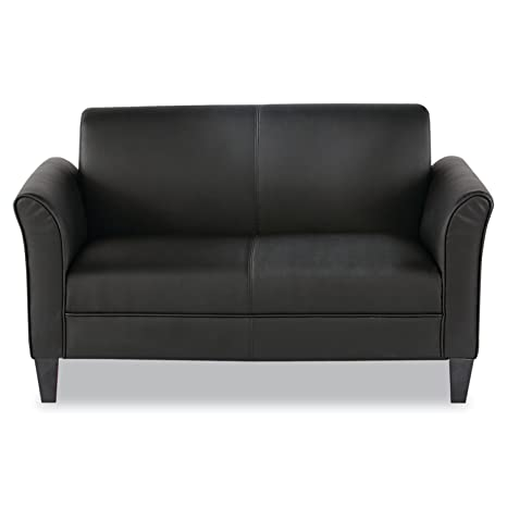 Phenomenal Alera Ale Reception Lounge Furniture Loveseat 55 1 2W X 31 1 2D X 32H Black Gmtry Best Dining Table And Chair Ideas Images Gmtryco