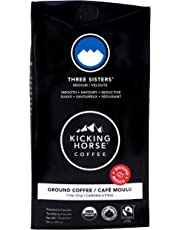 Kicking Horse Coffee, Three Sisters, Medium Roast, Ground, 284 g - Certified Organic, Fairtrade, Kosher Coffee