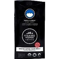 Kicking Horse Coffee, Three Sisters, Medium Roast, Ground, 284 g - Certified Organic, Fairtrade, Kosher Coffee