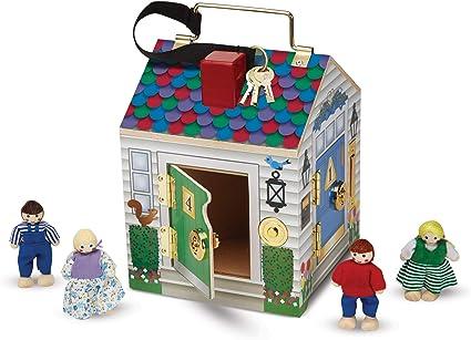 Casa de muñecas shop timbre de puerta