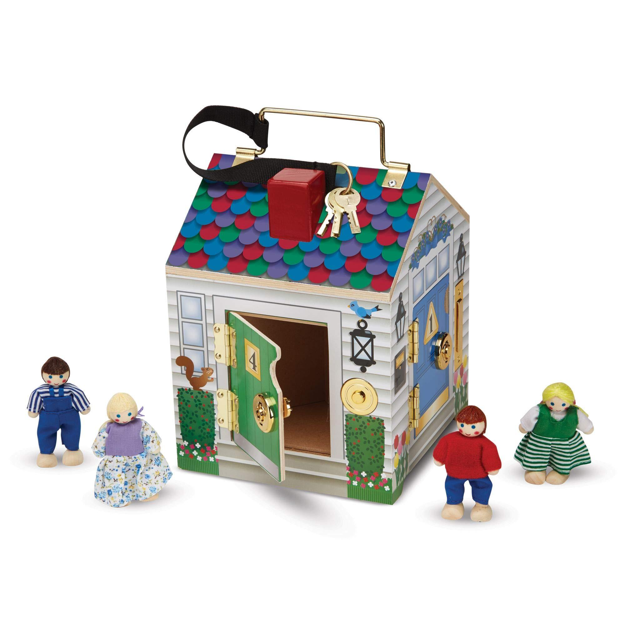 Melissa & Doug - Casa de muñecas, madera product image