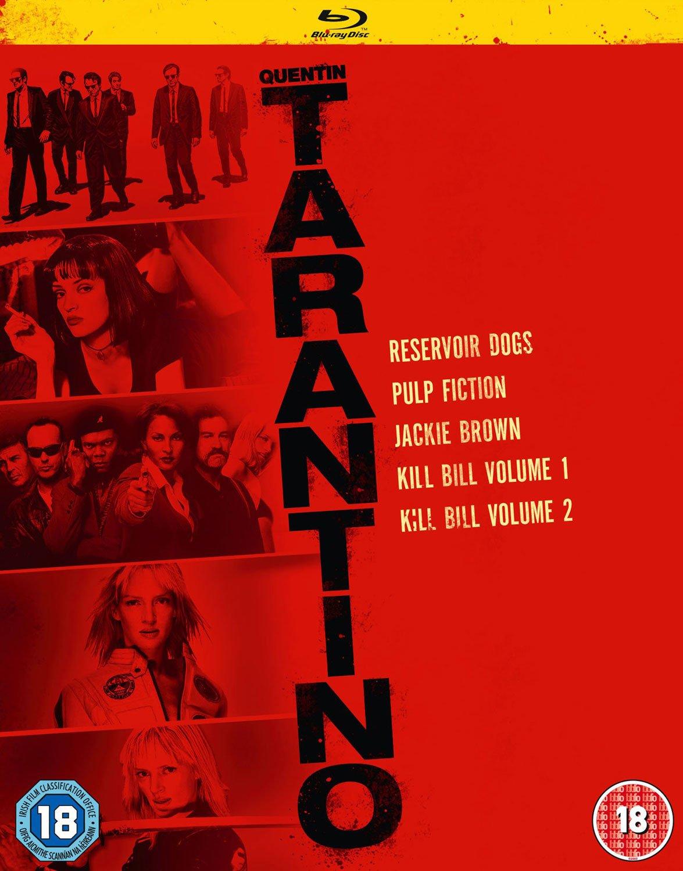 Quentin Tarantino 2015 Boxset (5 Blu-Ray) [Edizione: Regno Unito] [Blu-ray]