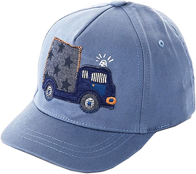 BABY BOY SUMMER HAT WITH PEAKED CAP /& CAR PICTURE